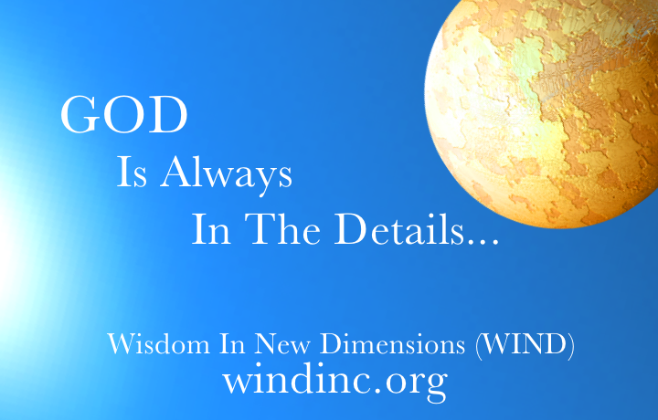 God Is Always In The Details Logo