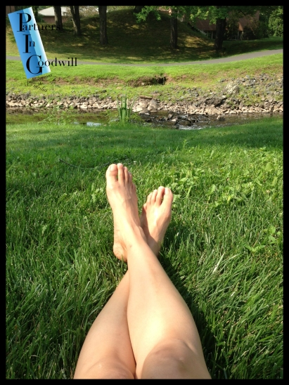 Dana Rondel ~ Raw Footage ~ The Gentle and Loving Touch of Life, Like Emerald Blades of Grass Underneath Me...