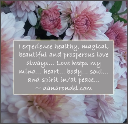 Healthy Love Affirmation