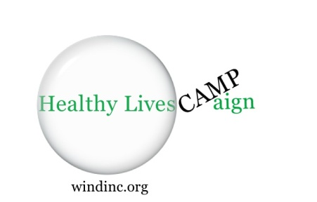 Healthy Lives Campaign Camp Logo