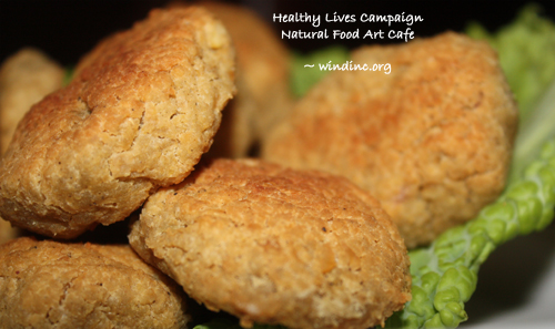 HLC NFAC Chick Pea Nuggets