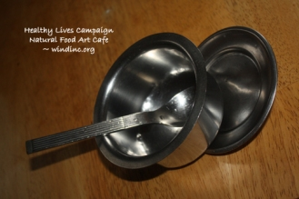 HLC NFAC Silver Bowl and Spoon II