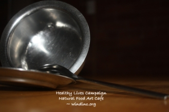 HLC NFAC Silver Bowl and Spoon III