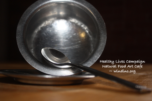 HLC NFAC Silver Bowl and Spoon IV